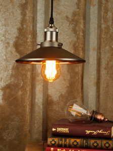 Antique Light  Pendant  Gun Metal