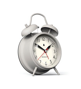 Newgate Covent Garden Alarm Clock Grey