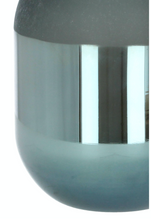 Nordal  Dark Grey Glass Vase