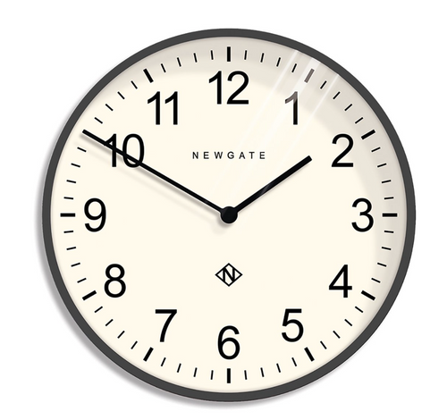 Newgate Professor Wall Clock Moonstone Grey