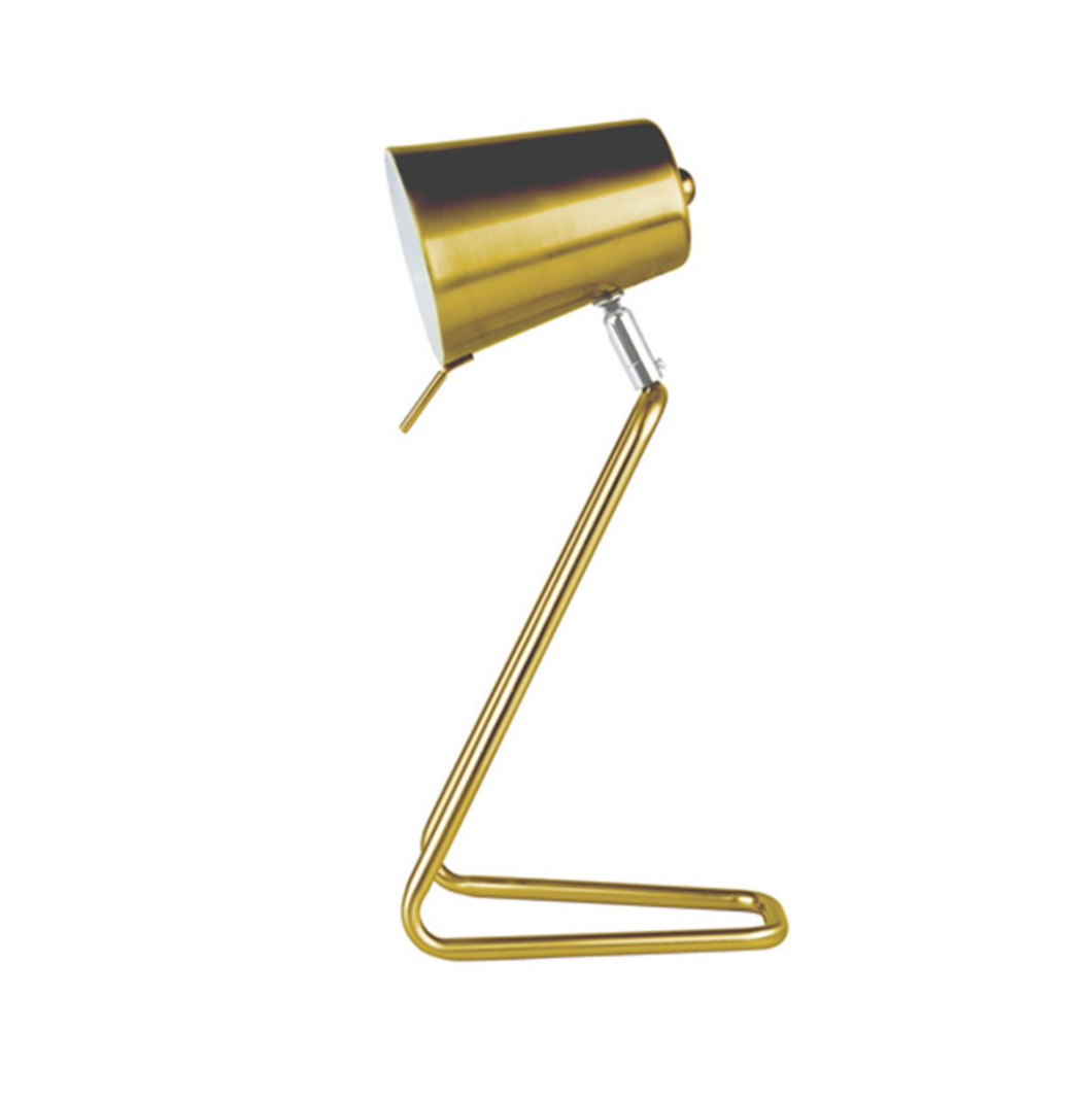 Leitmotiv Z Table Lamp Gold