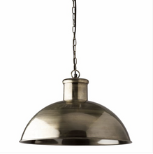 Spitafield Pendant Antique Pewter