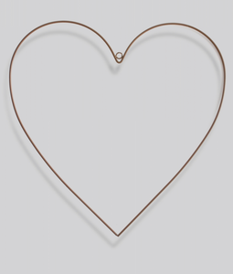 Heart Shaped Metal Frame
