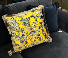 Scatter Box Koi Cushion Yellow