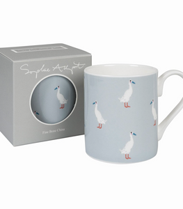 Sophie Allport Mug Runner Duck Soft Blue