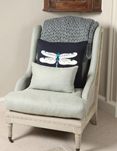 Sophie Allport Knitted  Cushion Dragonfly