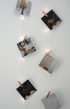 Photo Pegs Fairy Lights Copper ( Battery Operated)