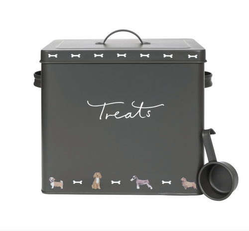Sophie Allport Pet Food Tin Walkies