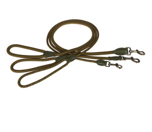 Sophie Allport  Rope Dog Lead Forest Green