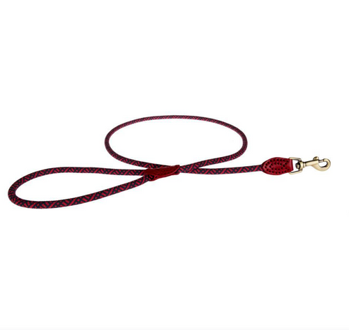 Sophie Allport Rope Dog Lead Red