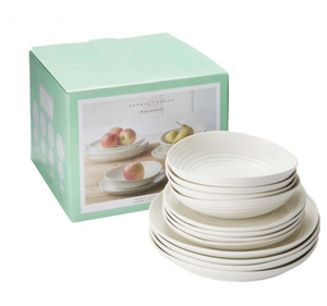 Sophie Conran Coupe 12 Piece Dinner Set