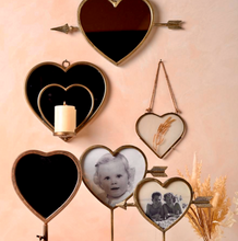 Parlane Living Hanging Heart Frame Brass