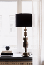 Watt & Veke James Table Lamp Stand  Antique Brass
