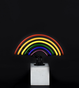 Locomocean Neon Table Light  Rainbow