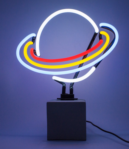 Locomocean Neon Table Light  Saturn