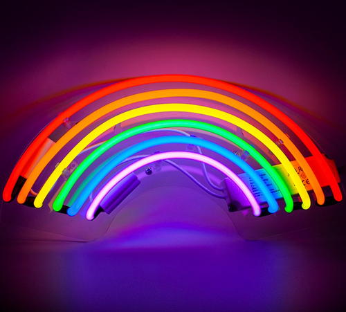 Locomocean Neon Wall Light  Rainbow