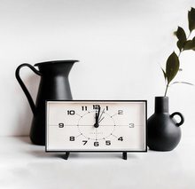 Newgate Wideboy Alarm Clock Black And White