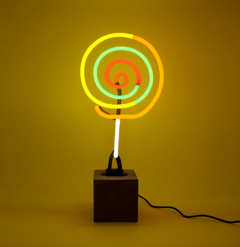 Locomocean Neon Table Light  Lollipop