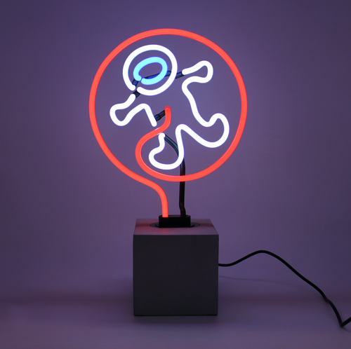 Locomocean Neon Table Light  Astronaut
