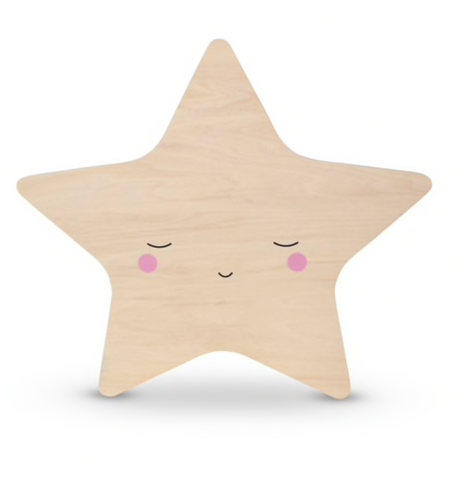 Teeny & Tiny Tap Wall Light Star