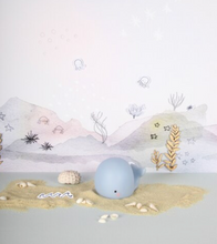 Teeny & Tiny Mini Whale Night Light Blue