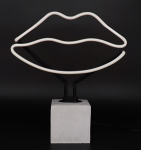 Locomocean Neon Table Light Lips
