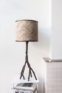Watt & Veke Feather Lamp Shade GOLD 29cm