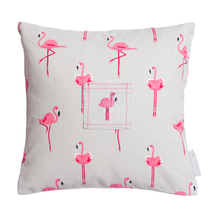 Sophie Allport Tooth Fairy Cushion  Flamingos