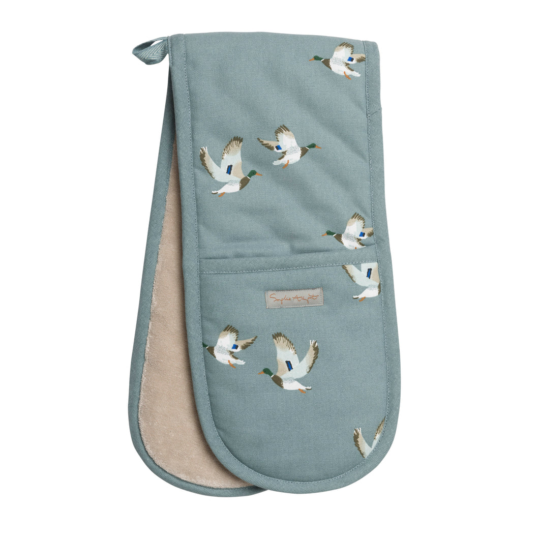 Sophie Allport Double Oven Glove Ducks