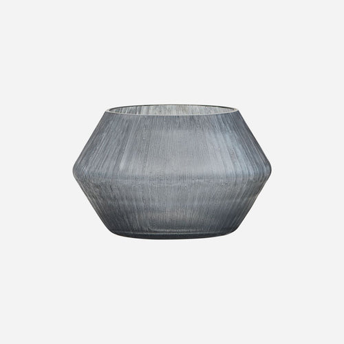 House Doctor Chub Candle Holder Grey