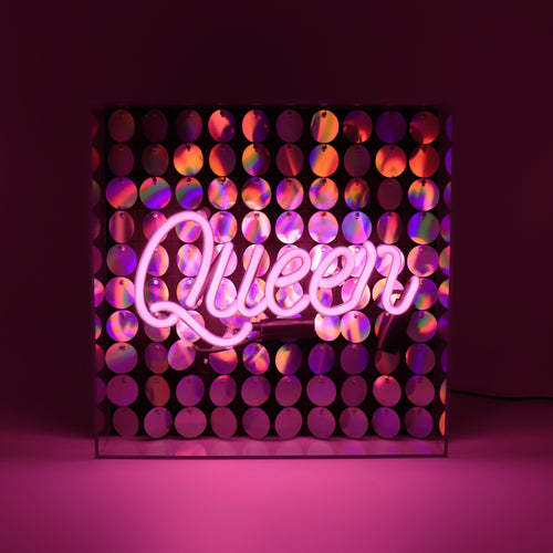 Locomocean Acrylic Box Neon  Queen