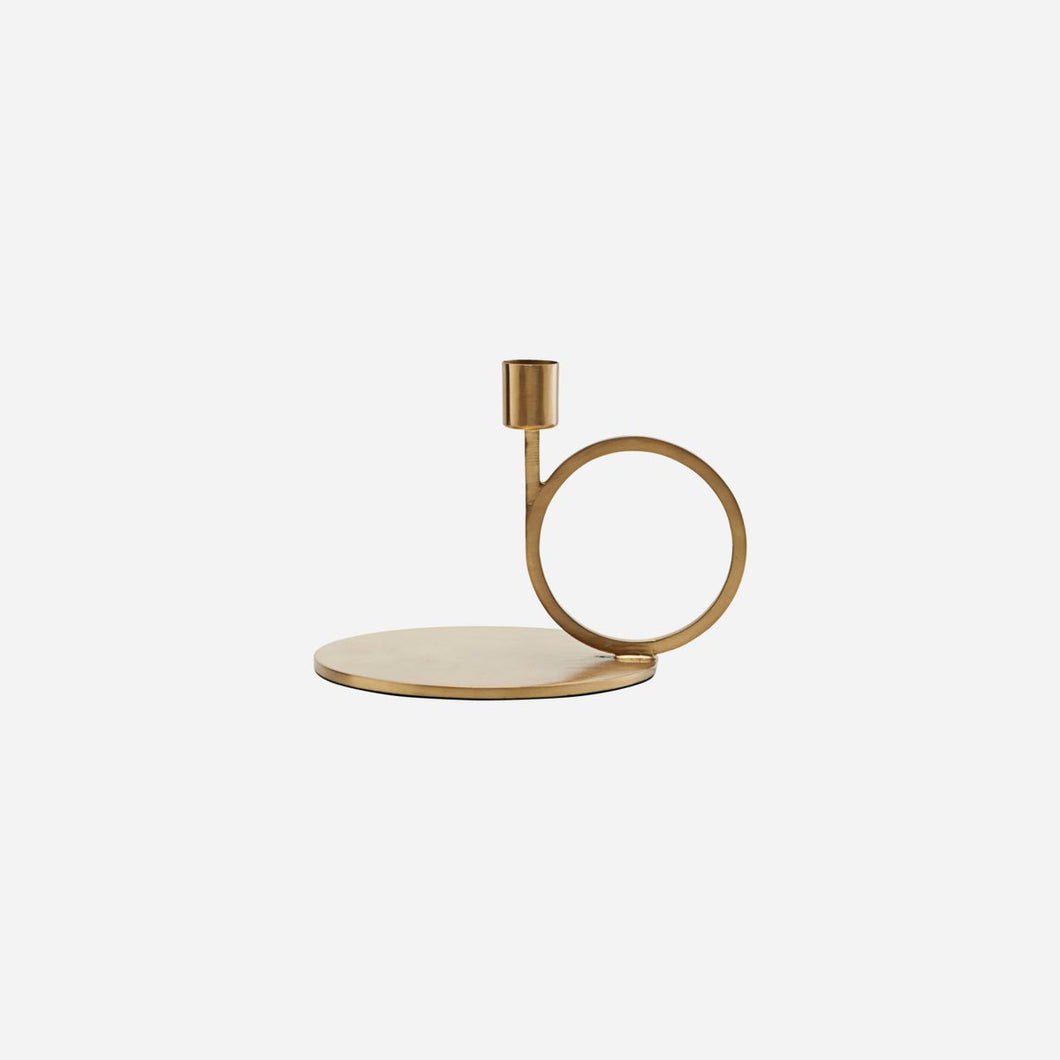 House Doctor Cirque Candle Holder Brass