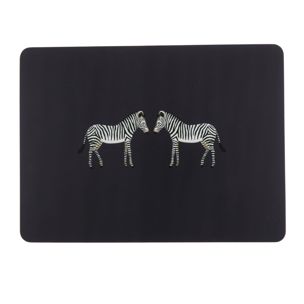 Sophie Allport Placemats Zebra (Set of 4)