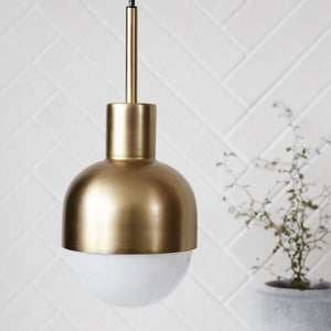 House Doctor Glow Pendant, Brass
