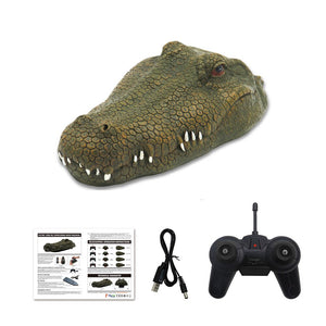 Remote Crocodile Simulation Head