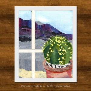 Barrel Cactus at the Window