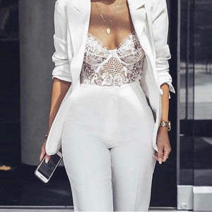 Laced With Love | Bodysuit | White