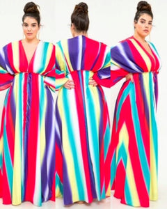 Rainbow Love | Maxi Dress | Plus Size
