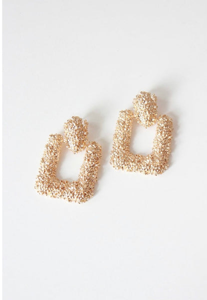 Door knocker earrings - shopfashboutique