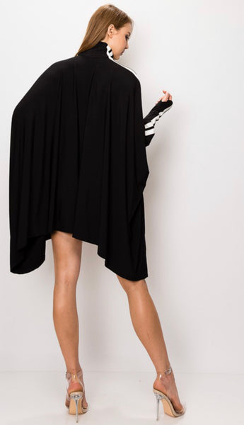 Cape dress - shopfashboutique