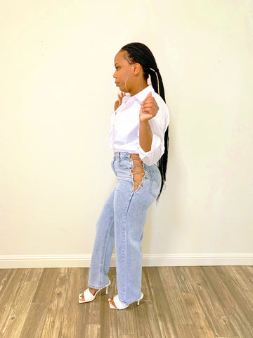 Laced Up | Jeans