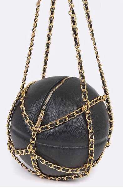 Just Ballin | Basketball Bag | Black