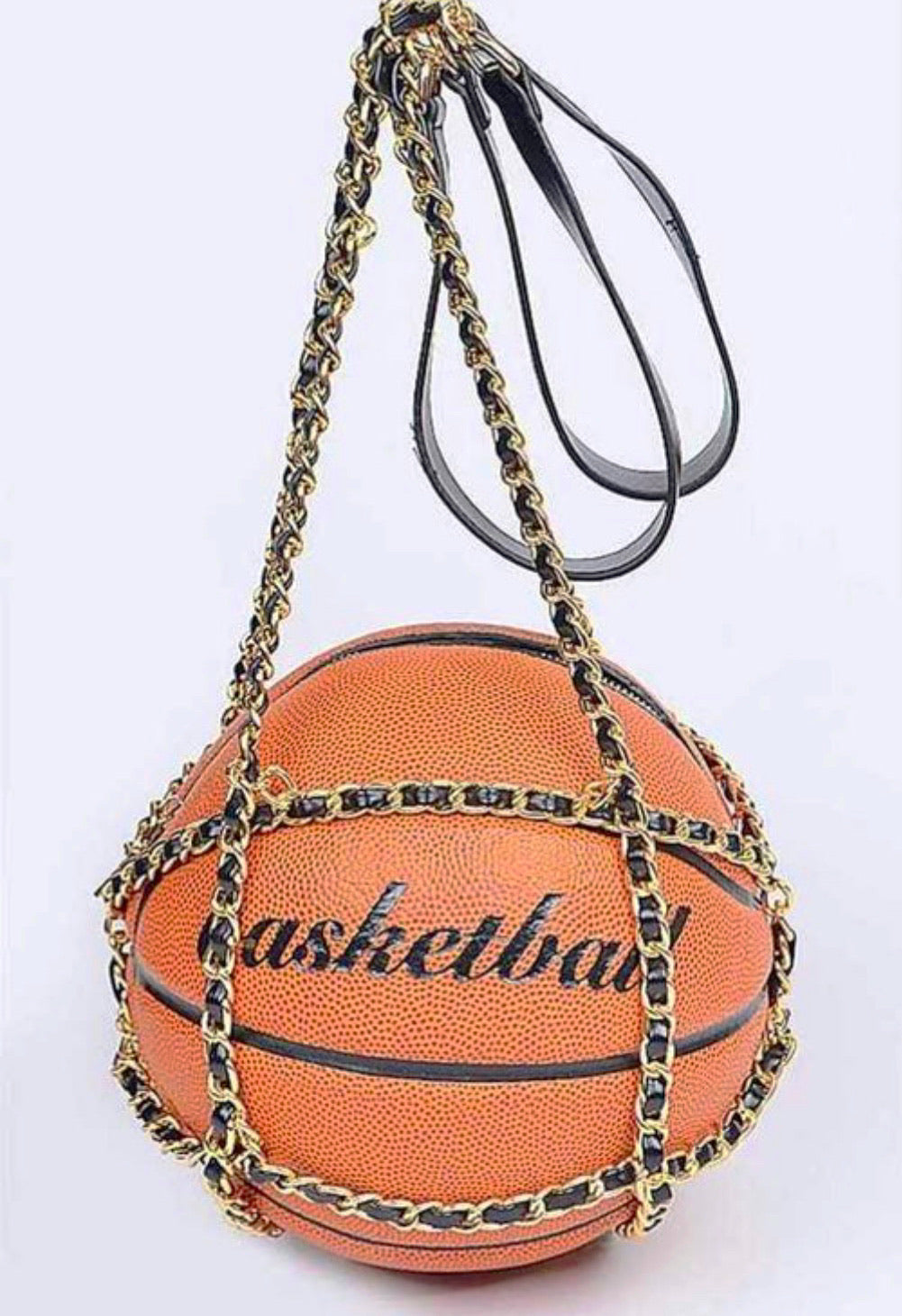 Just Ballin | Basketball Bag | Orange