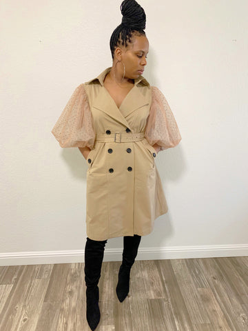 But First Brunch | Trench Coat