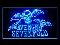 Avenged Sevenfold Neon Sign (Pattern 2. J750B. Bar. Hub. Advertising. LED. Light)