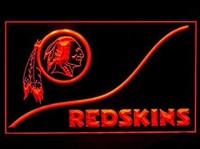 Washington Redskins Neon Sign (Cool. LED. Light)