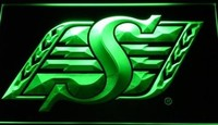 Saskatchewan Roughriders Neon Sign (Sport. Light. LED)
