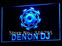 Denon DJ Home Audio Theater NR LED Neon Sign