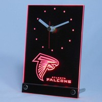 Atlanta Falcons Table Desk 3D LED Clock