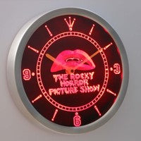 The Rocky Horror Picture Show 3D Neon Sign LED Wall Clock NC0220-R